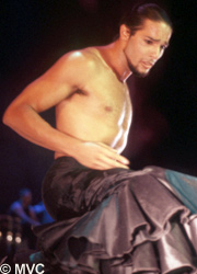 Joaquin Cortes - the man who made flamenco dancing glamorous world-wide.