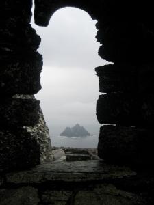 Vista desde la roca de Skellig