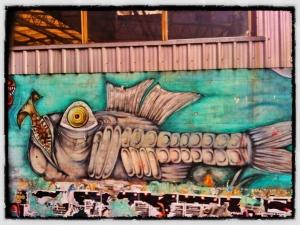Grafiti en Buenos Aires, Argentina (foto tomada por S. Leahy)