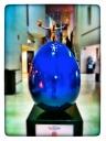 Eggquilibrium de Orla De Bri en la Galeria Nacional de Dublín