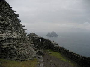 Vista desde Skellig Michael