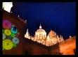 La catedral de Salamanca, por la noche, junio 2013